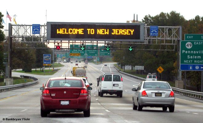 New Jersey Turnpike New Jersey Jersey Jersey Girl