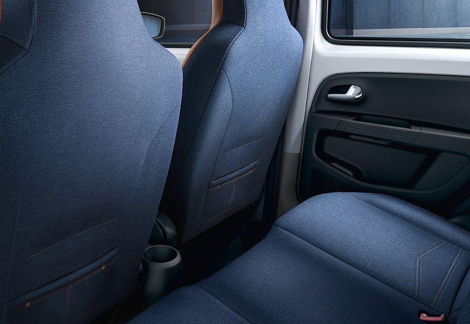 Volkswagen Up Jeans Up Interior Back Seat Volkswagen