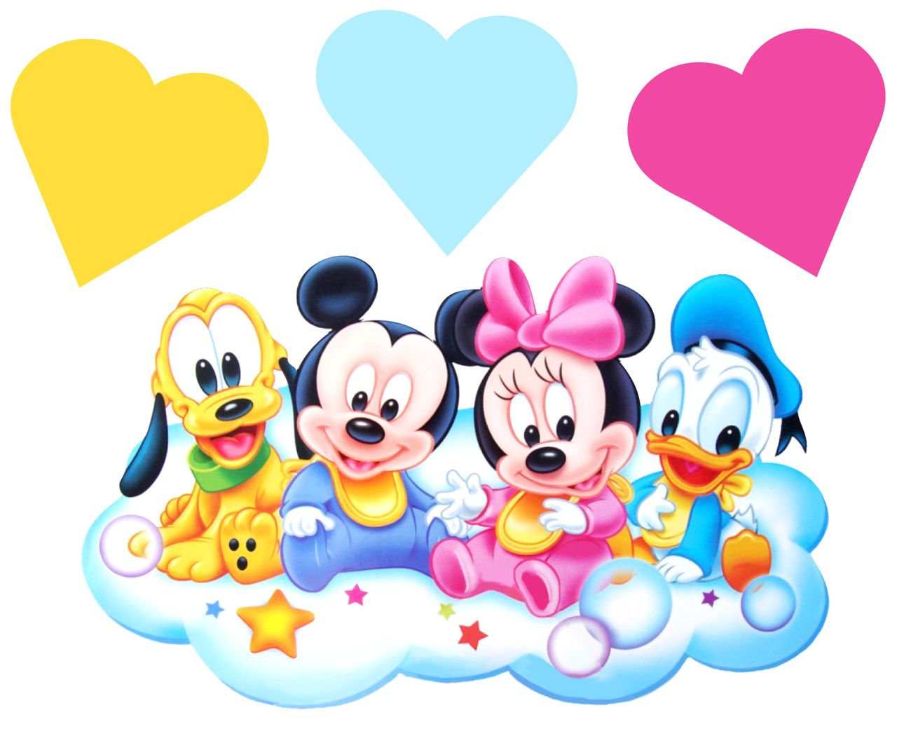 Baby Disney Wall Stickers Mickey Minnie Mouse Totally Movable Baby Disney Characters Mickey Mouse Wallpaper Baby Mickey Mouse