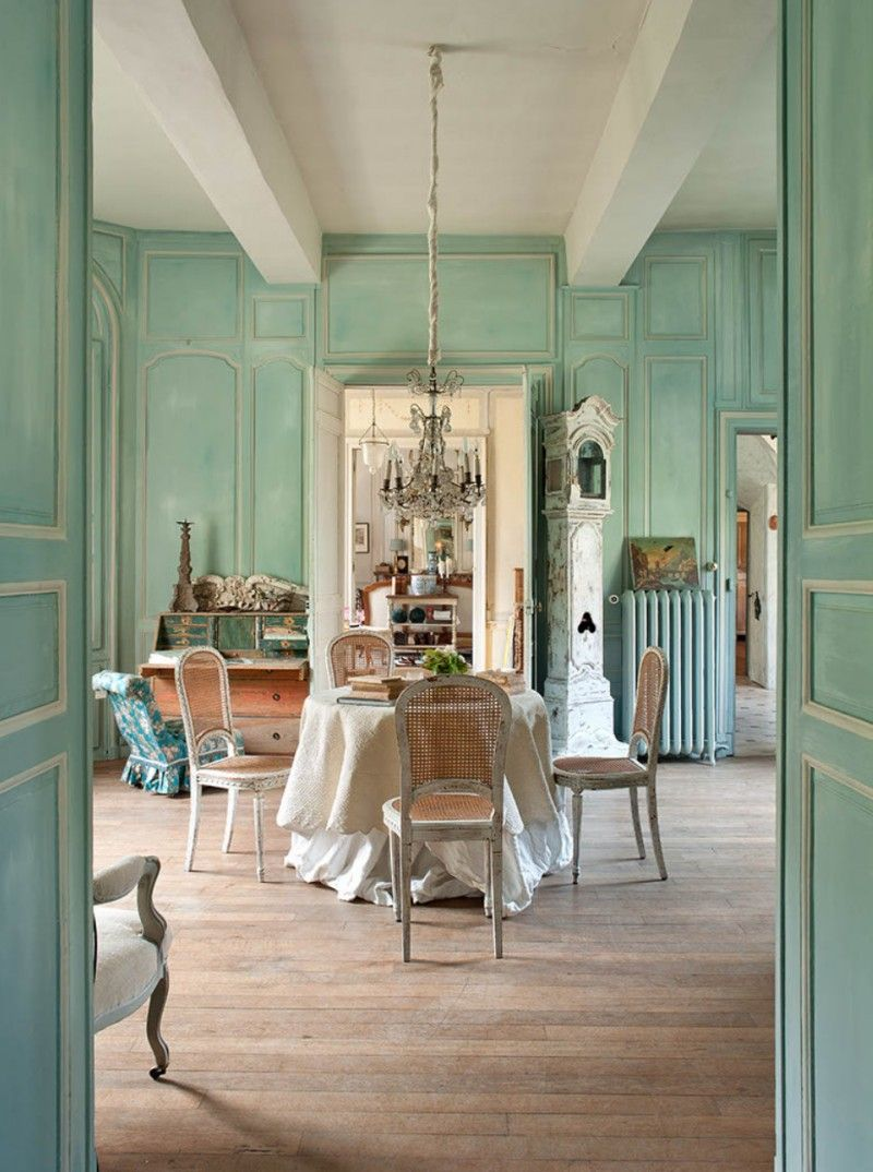 Le grillon voyageur french country decor pinterest - Salle a manger provencale ...