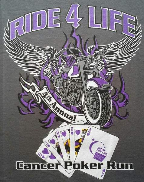 Motorcycle Poker Run T Shirts Is The T Shirt Design