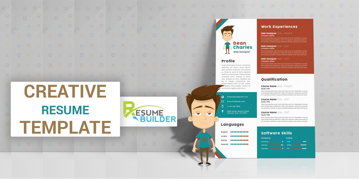 Eye Catching Resume Templates Employers Always Wish To Recruit Employees Who Are Creative And