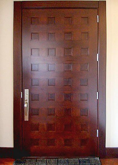 sbys 5118 this 42 x 96 cherry door features 36 flat cherry panels