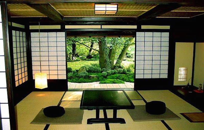 Japanese Living Space Home Decorating home design Pinterest