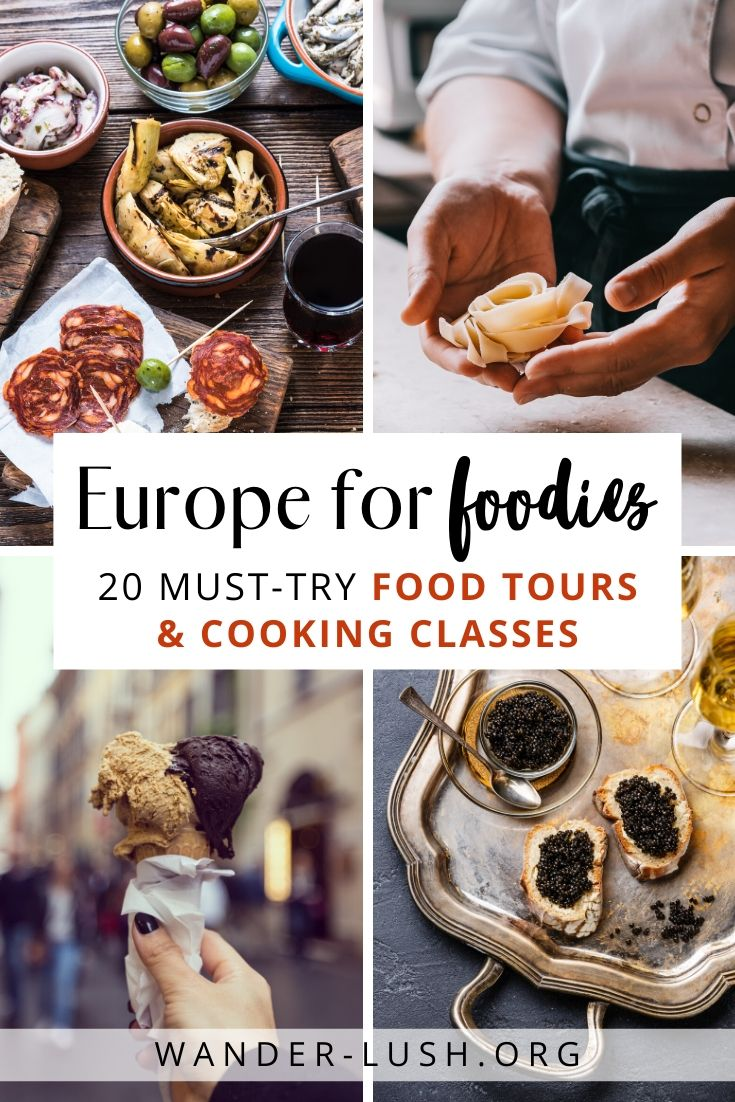 Best Food Experiences in Europe: Tours, Classes & Workshops