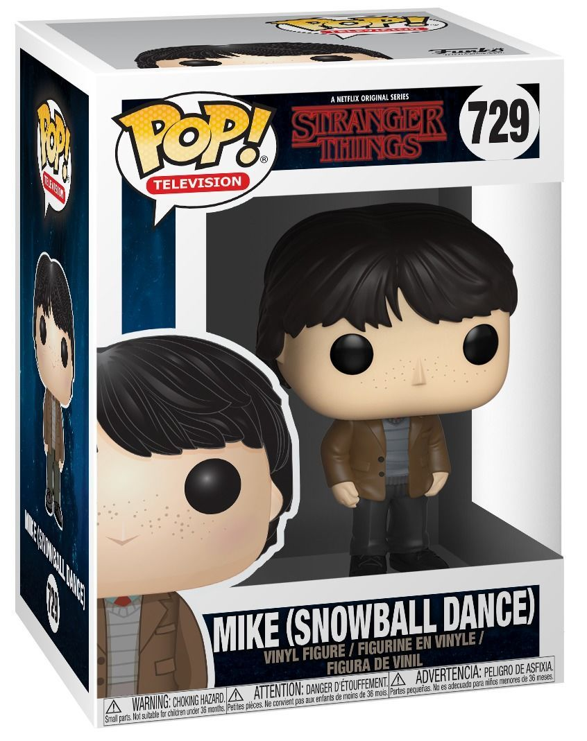 TELEVISION Stranger Things 729 Mike Snowball Dance FUNKO Pop