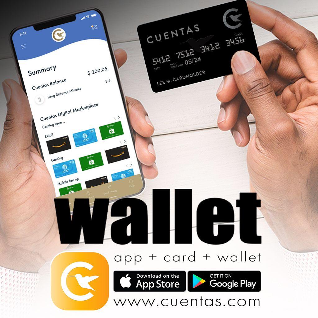 Disfruta del wallet de cuentasapp para pagar hacer