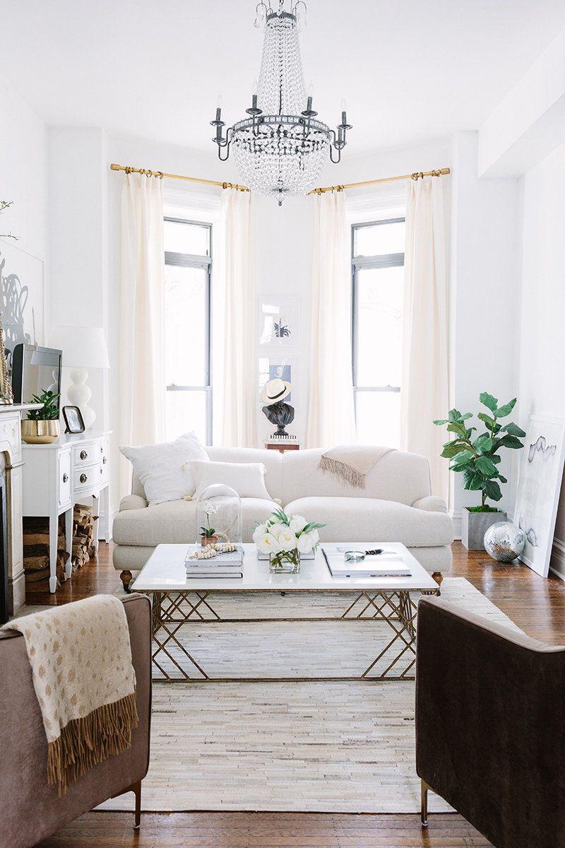 De blanco y muy sofisticada | Pinterest | Living rooms, Room and ...