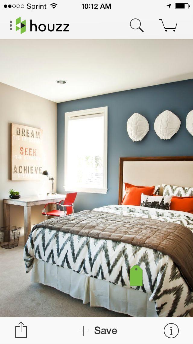Master bedroom | new home ideas | Accent wall bedroom, Best bedroom ...