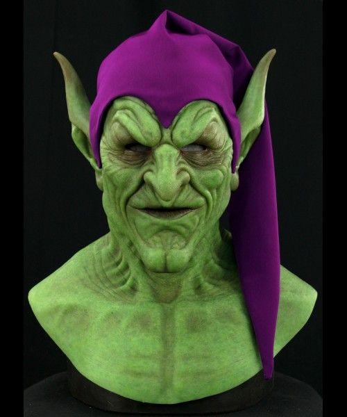 Frightening Green Goblin Silicone Mask | Green goblin ...