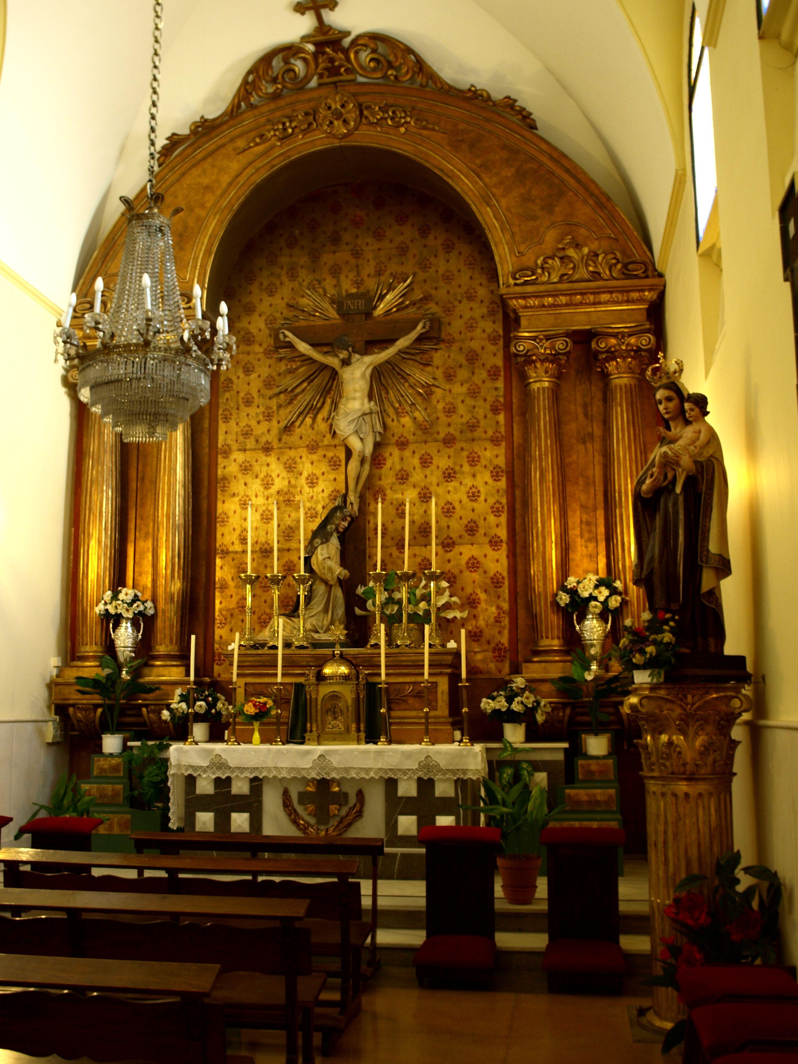 capilla lateral del Santuario de la Virgen de la Villa