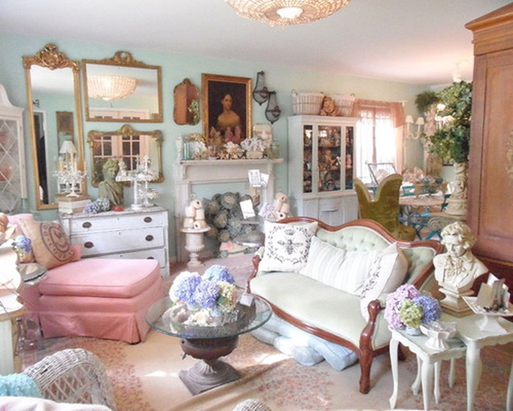 80 Shabby Chic Home Decor Ideas 80