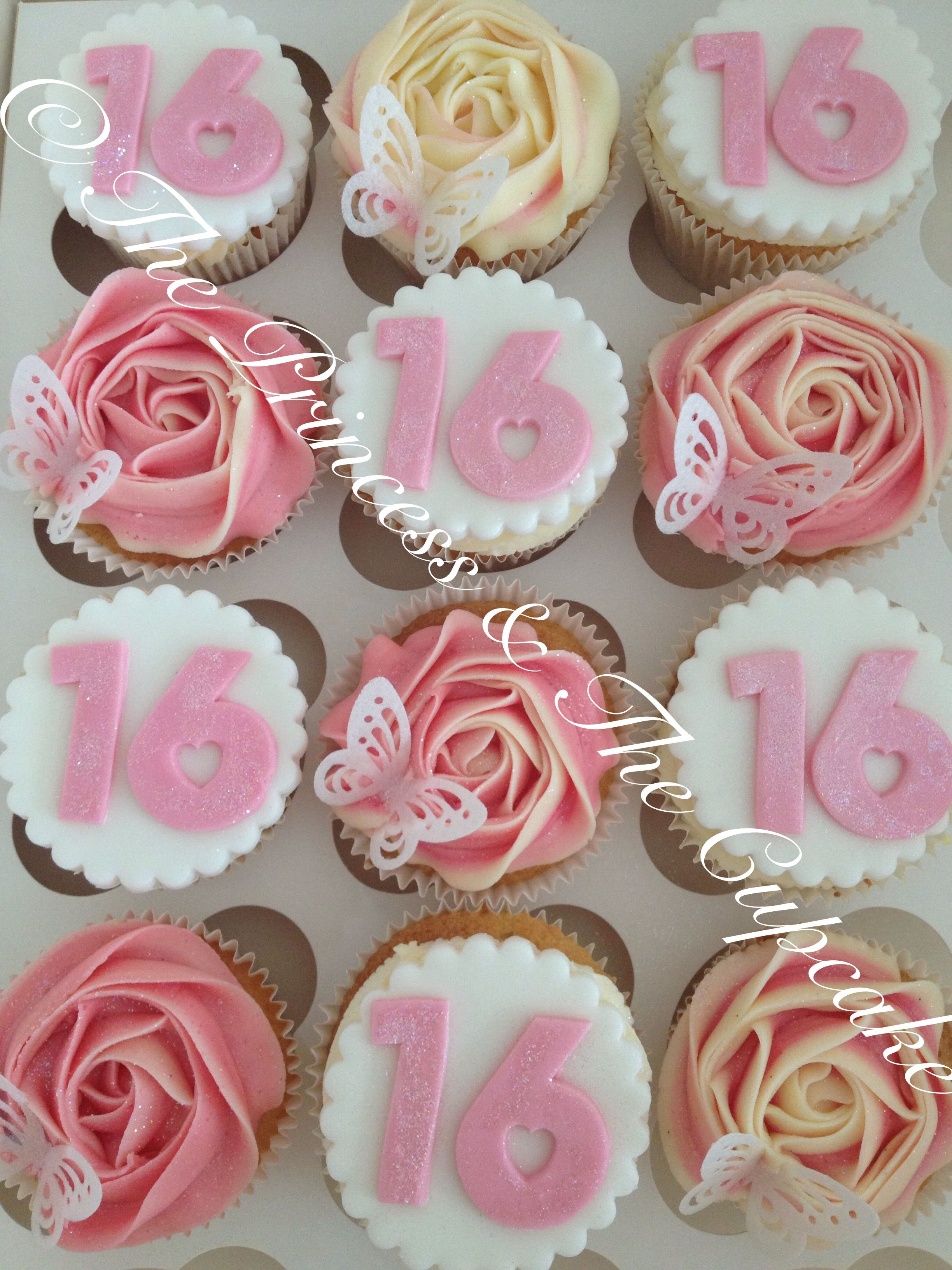 16th Birthday Cupcakes Partyideas In 2019 Birthday