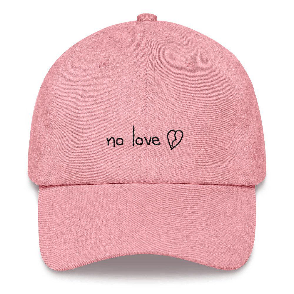 Excited to share the latest addition to my  etsy shop  no love Dad hat   accessories  hat  trap  lilpeep  blackbear  rap  playboy  savage  love 2936b33c0df