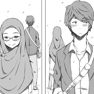 kumpulan kartun romantis parf 3 my ely Anime muslim