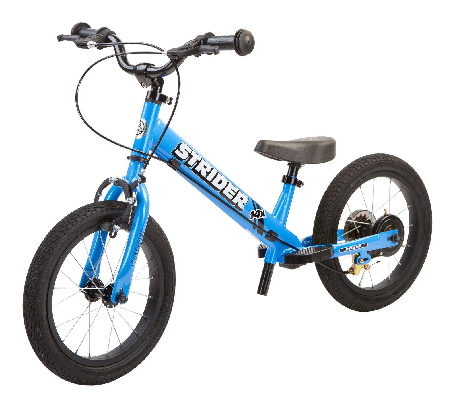 Strider 16 Sport Balance Bike Colour Blue Balance Bike Bike