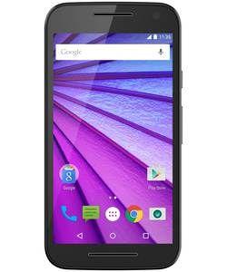 Sim Free Motorola Moto G 3rd Gen Mobile Phone - Black.