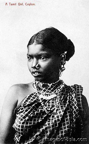 Tamil Girl Ceylon