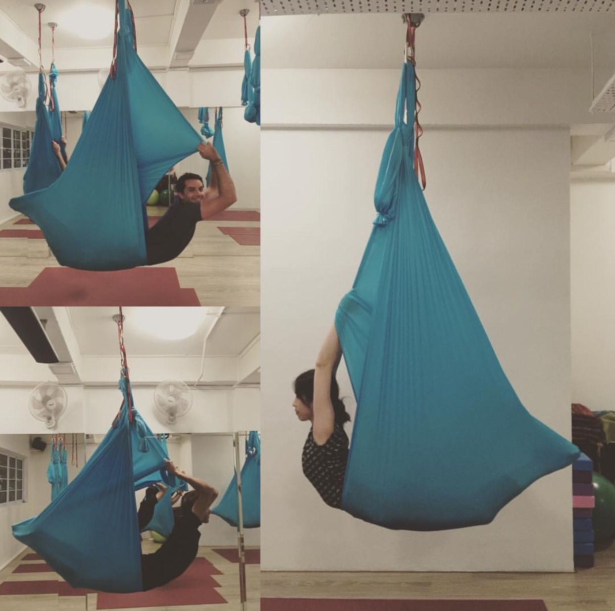 Pin By Hammer Aerial Yoga On Aerial Yoga