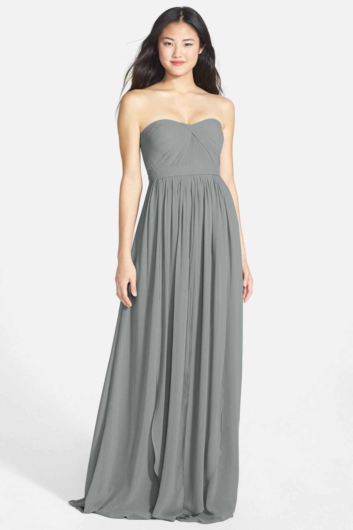 Jenny yoo collection aidan convertible strapless chiffon gown aidan convertible strapless chiffon gown plus size by jenny yoo collection on ombrellifo Choice Image