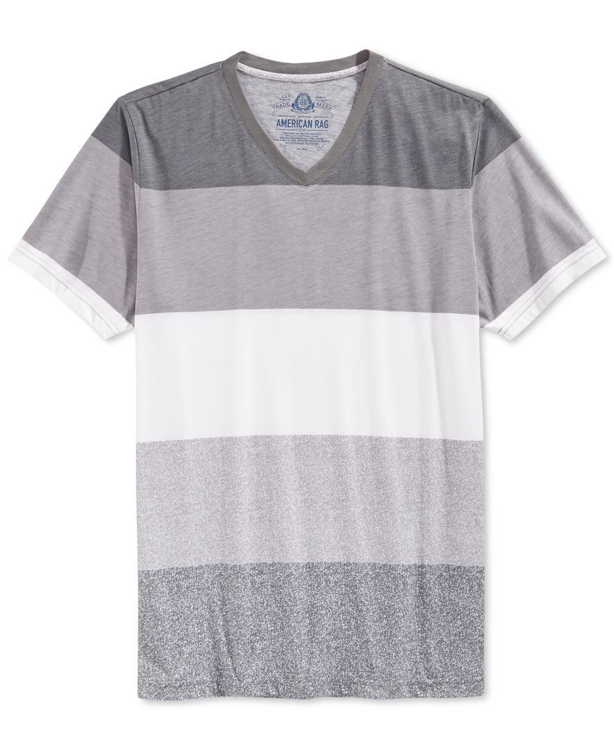 f03458ff American Rag Joy Striped T-Shirt | Men wear | American rag, T shirt ...