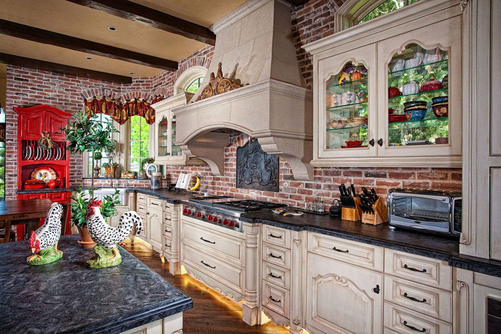 Brick kitchen backsplash \u2013 There are several different types of faux