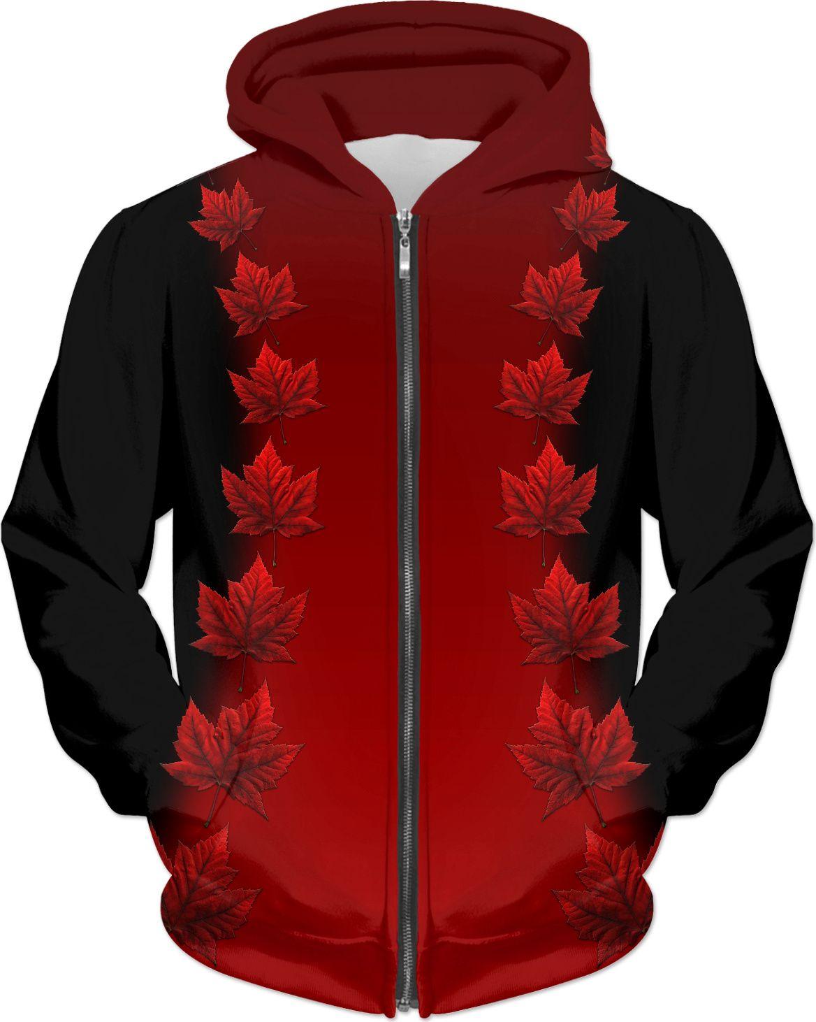 ce54415617 Canada Hoodie Canada Maple Leaf Hoodies Stylish Souvenir Hoodie Jacket  Canadian Maple Leaf Hoodies Canada T-Shirts, Dresses, Pants Socks and Canada  Flag ...