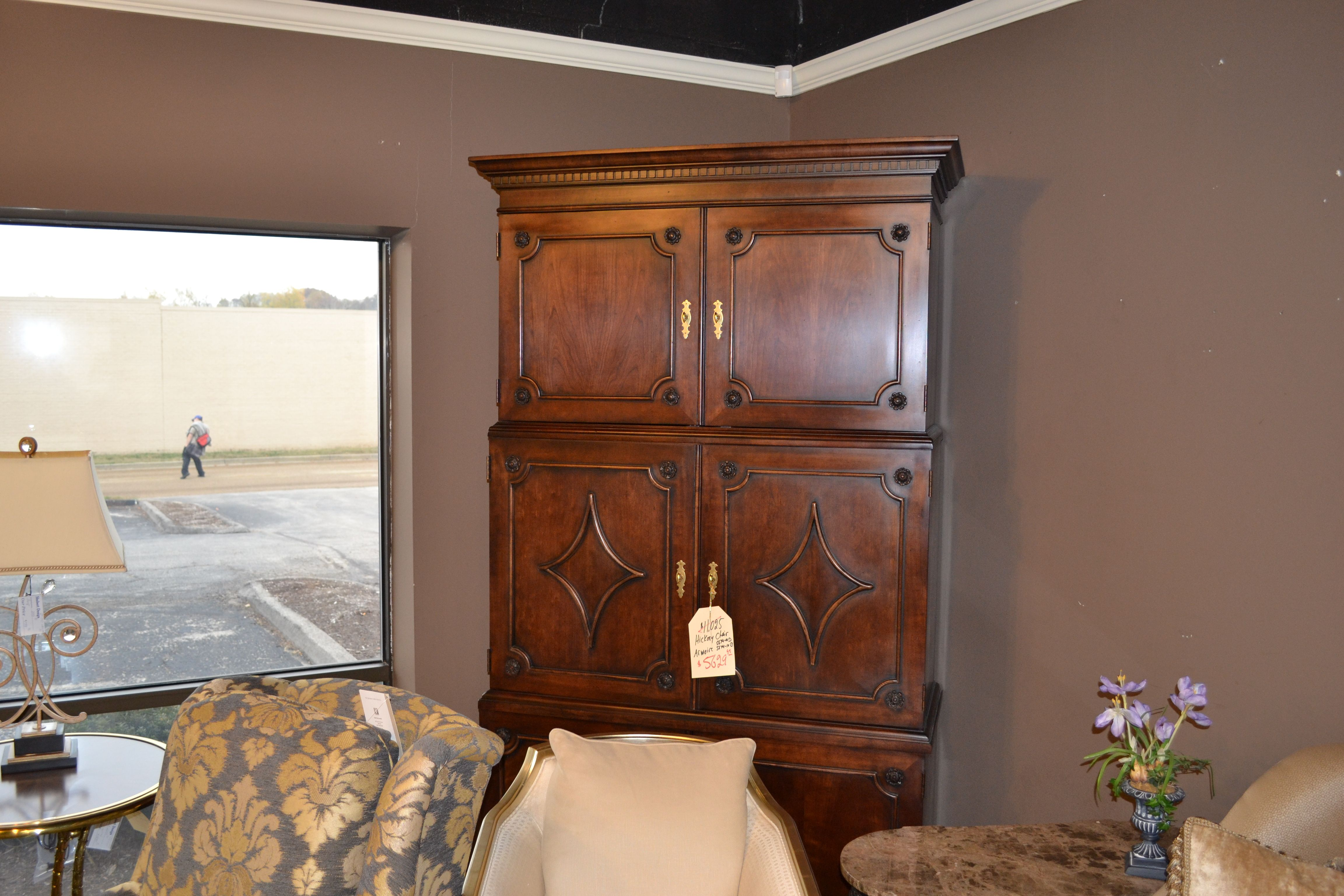 Hickory Chair Armoire At Shubert Design Furniture
