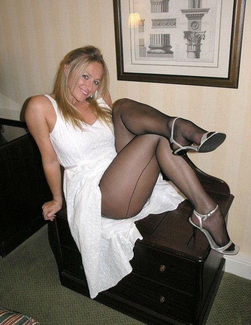 Final, sorry, showing off pantyhose can