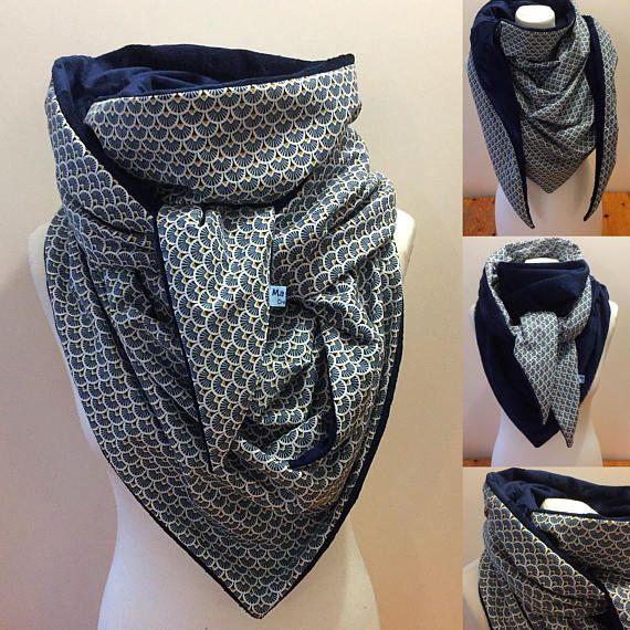 f13880653f7 Maxi Cheche d hiver foulard polaire