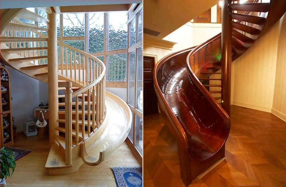 Best Dyi Home Decorating Slide Stairs Staircase Design Stair 400 x 300