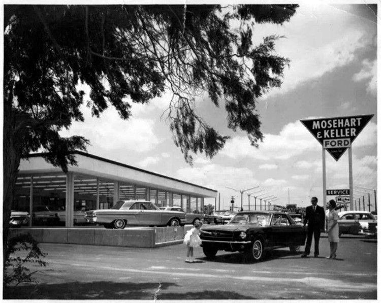 64 ½ Mosehart & Keller Mustang… Dealership Mustang