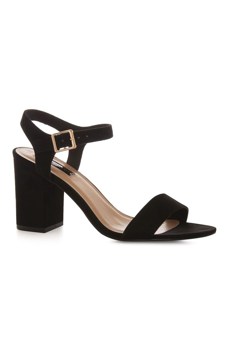 fa3e4a645d Primark - Black Block Heel Sandal | Penny's in 2019 | Black block ...