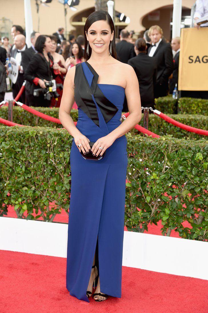 Pin for Later: Wir nehmen euch mit auf den roten Teppich der SAG Awards! Melissa Fumero