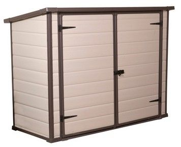 Bikes Bins More Sheds By Keter Plastic Storage Sheds Outdoor Storage Solutions Outdoor Storage Units