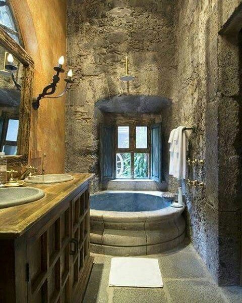 Middle Ages Modern Medieval Bathroom