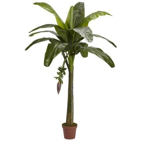 6 Ft Banana Silk Tree (Real Touch)