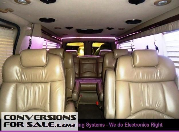 2003 Chevy Express 9 Passenger Explorer Presidential Conversion Van