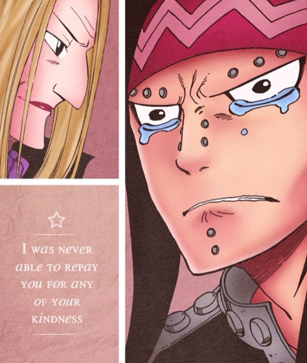 Dammit Gajeel if you start crying so will I