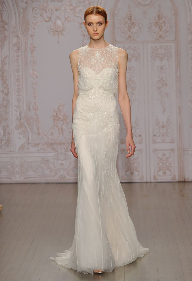 Monique Lhuillier Wedding Dresses Inspired by Ballerinas for Fall ...