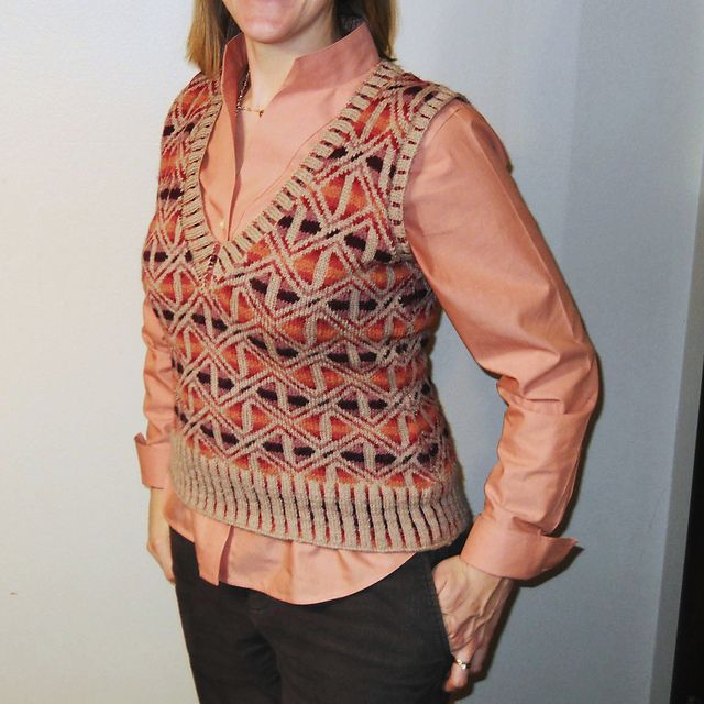 Ravelry: Project Gallery for Rosemarkie Waistcoat pattern by Alice Starmore