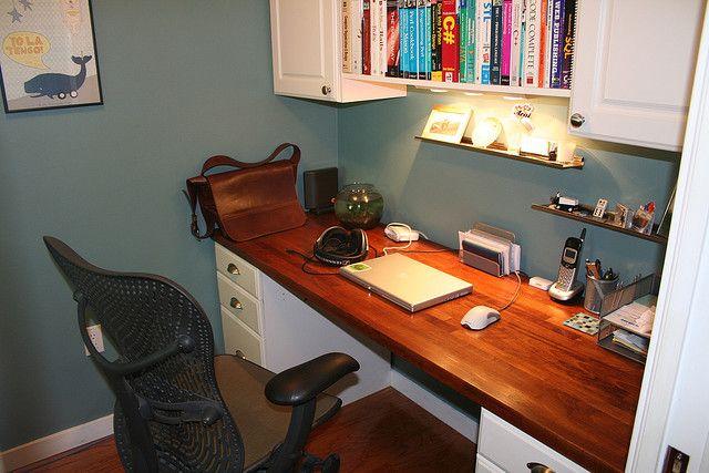 New Desk Desk Inspiration Ikea Butcher Block Home Decor