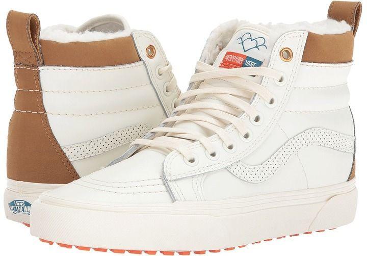 5d568dd5936 Vans SK8-Hi MTE Aimee Fuller Marshmallow) Skate Shoes
