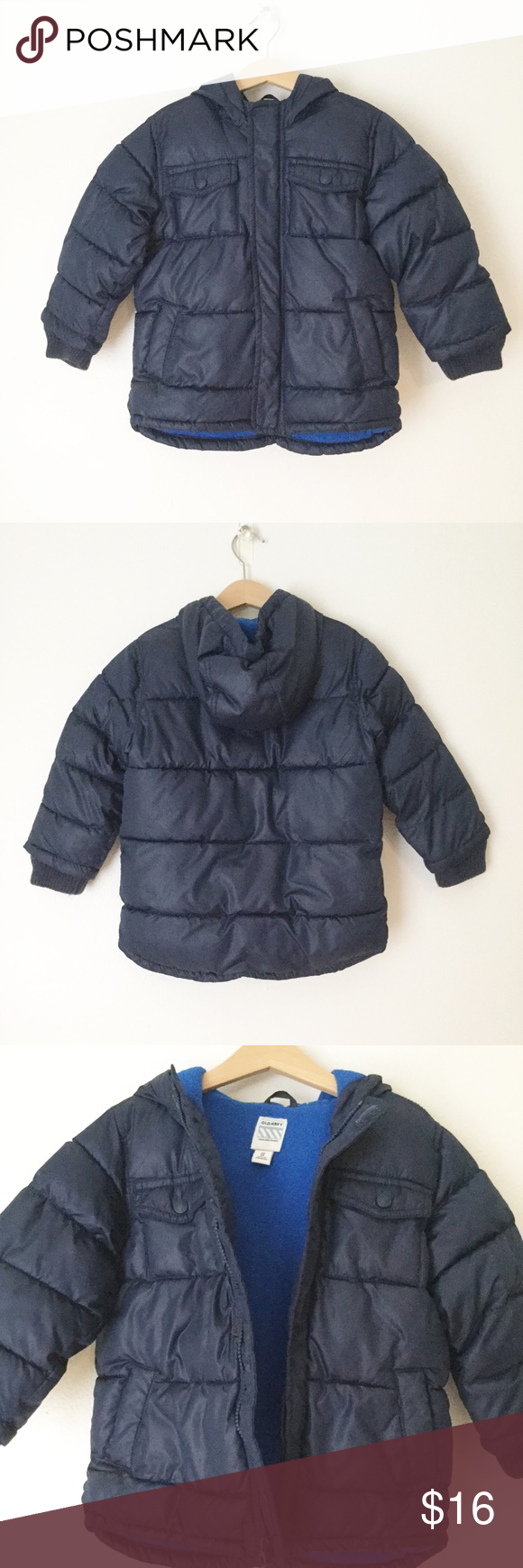 Old Navy Blue Puffer Jacket Great Condition Zip Front Puffer Jacket With Hood Old Navy Jackets Coats Puffers Blue Puffer Jacket Puffer Jackets Jackets [ 1740 x 580 Pixel ]