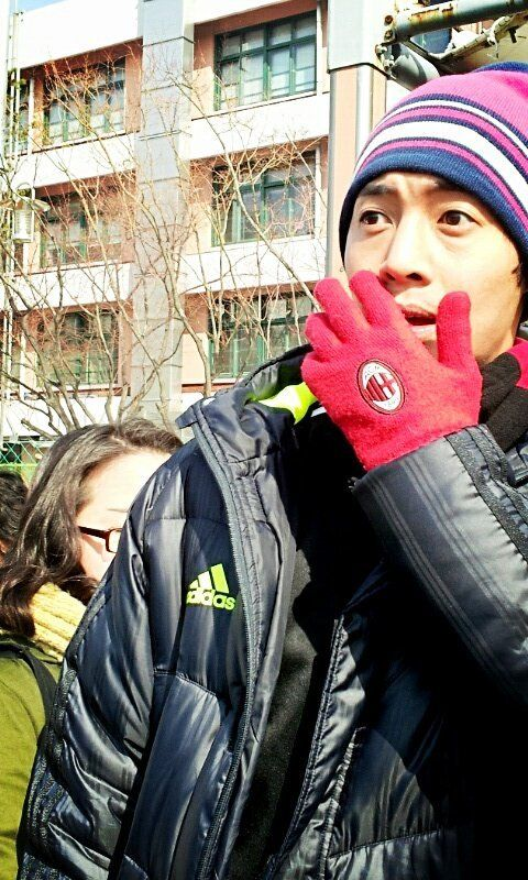 Kim Hyun Joong And Kim Hyung Jun Playing Soccer Together Pinterest