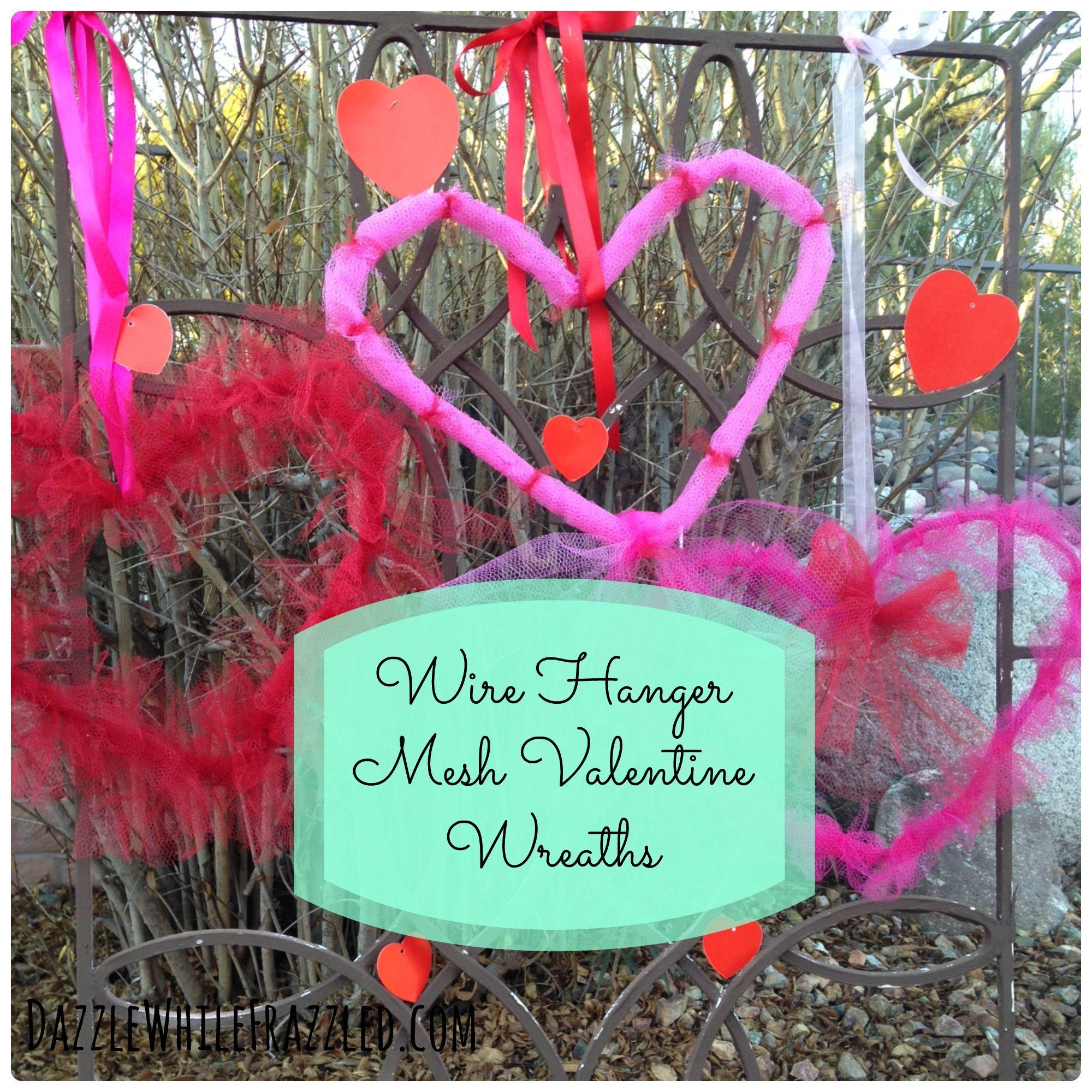 5 diy valentines day mesh heart door wreaths front doors 5 diy valentines day mesh heart door wreaths rubansaba