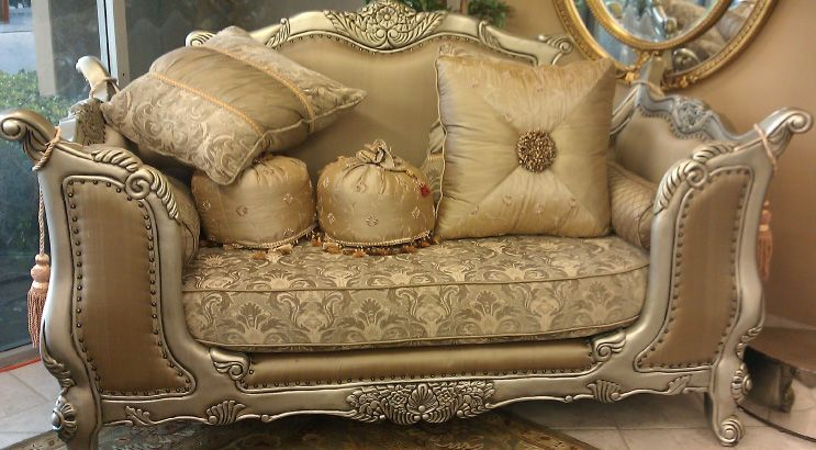 Italian Furniture Italian Living Room Set Charlotte Silver Series Pretty Furniture Italian Living Room Italian Furniture Living Room