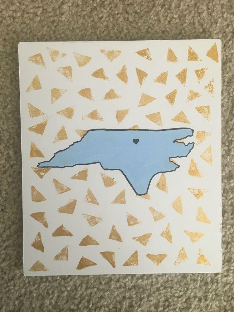 UNC Tarheel Pride Chapel Hill Carolina Painting poster art