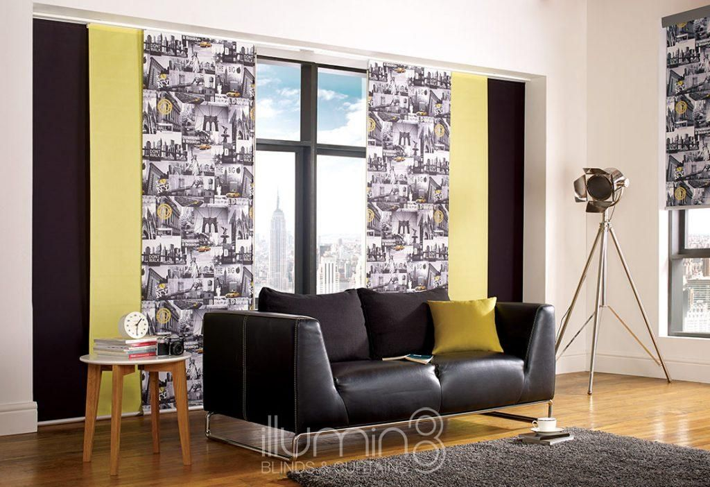 Panel Blinds Panel Blinds Decor Curtains With Blinds