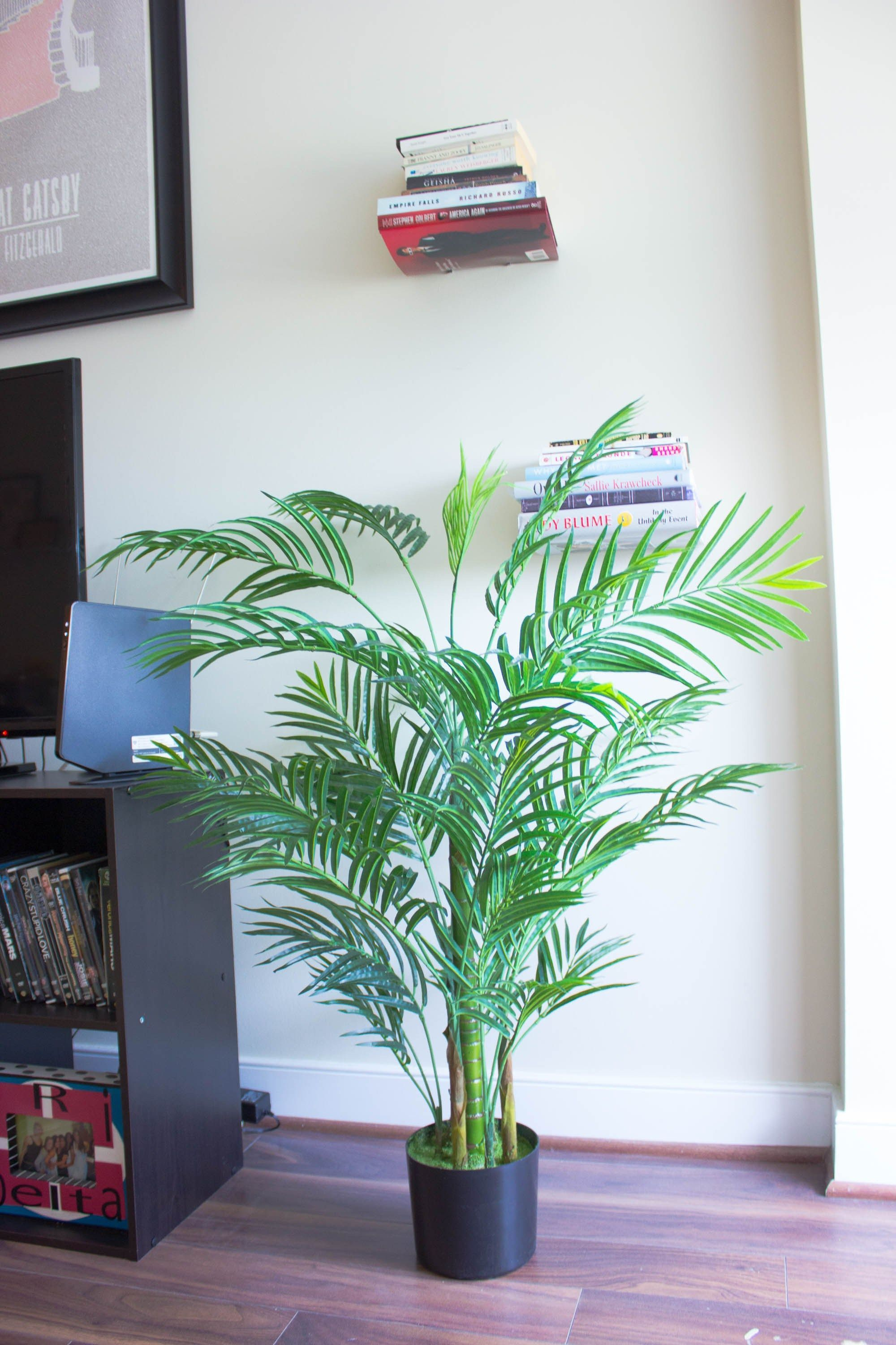 Decorating my apartment with faux indoor plants something good a